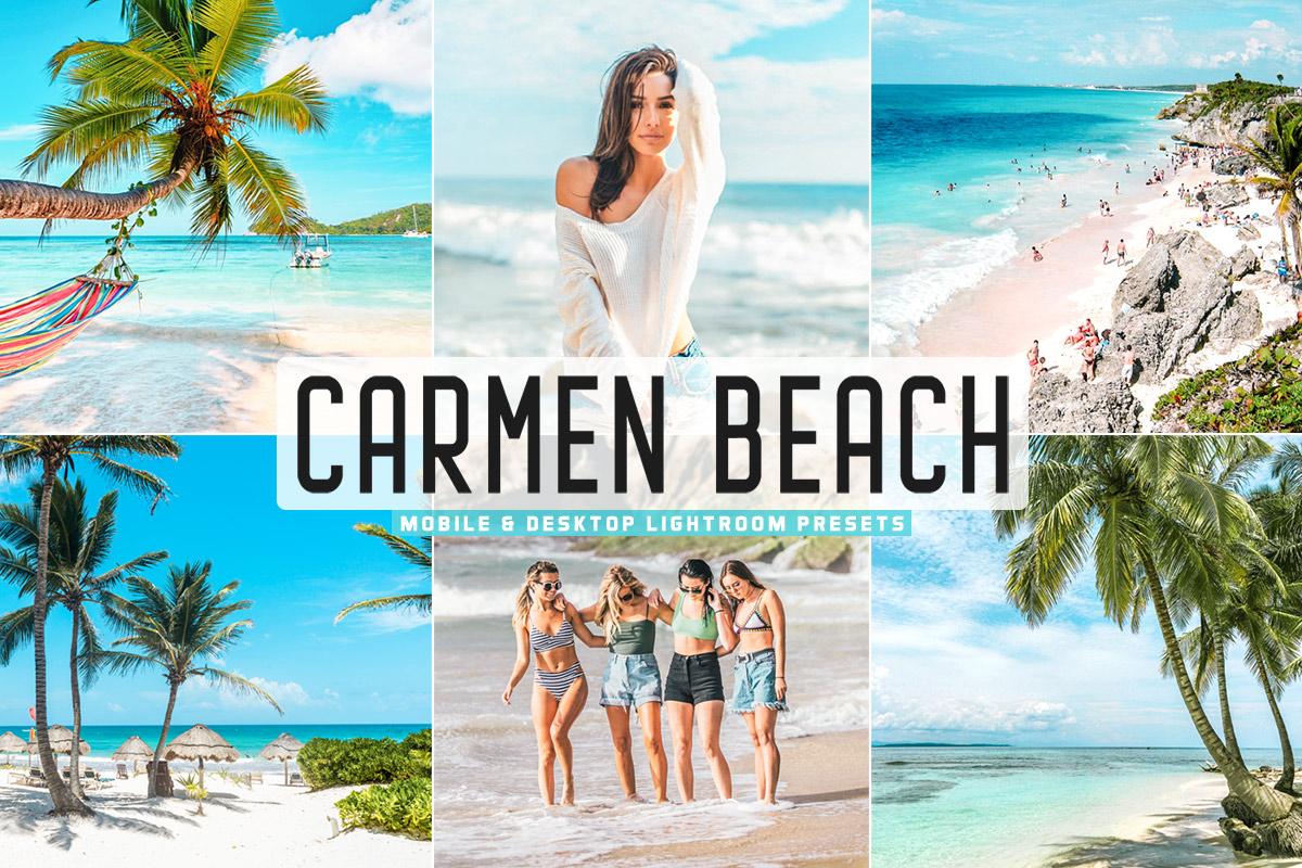 Free Carmen Beach Lightroom Presets