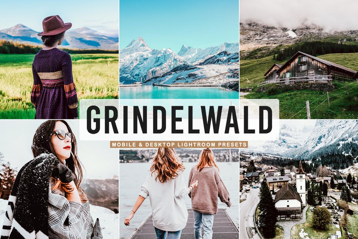 Free Grindelwald Lightroom Presets