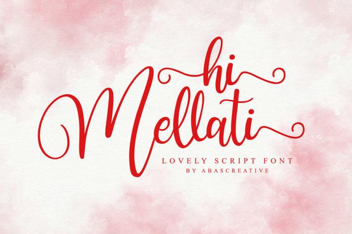 Free Hi Mellati Calligraphy Font