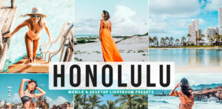 Free Honolulu Lightroom Presets