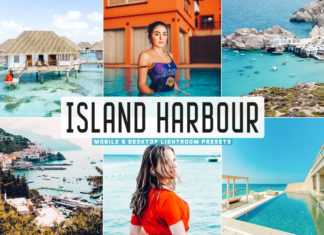 Free Island Harbour Lightroom Presets