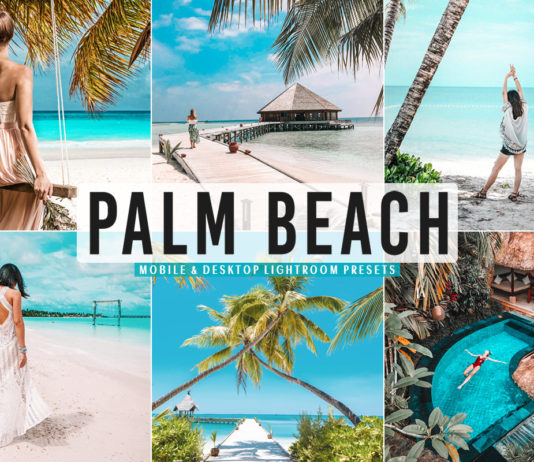 Free Palm Beach Lightroom Presets