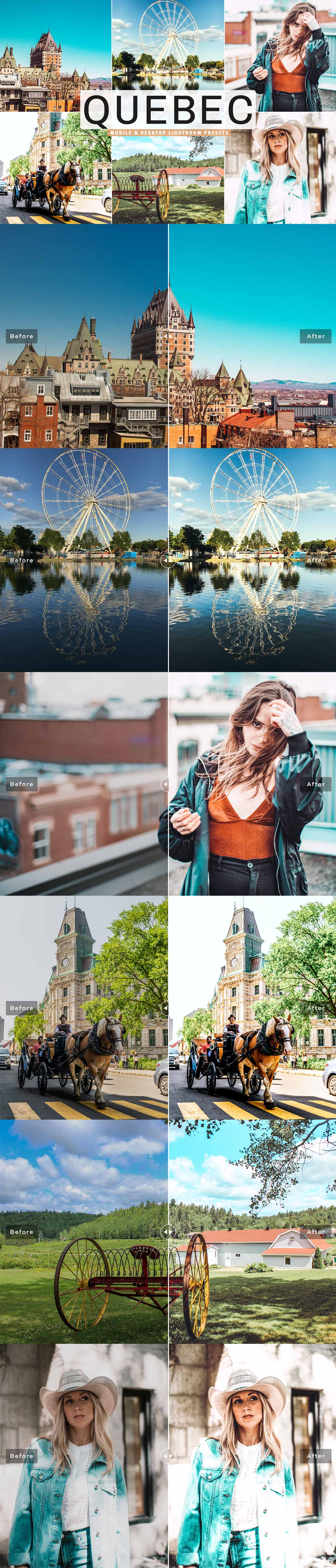 Free Quebec Lightroom Presets