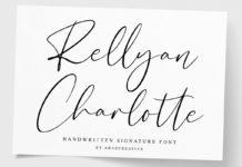 Free Rellyan Charlotte Signature Font