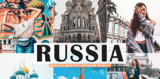 Free Russia Lightroom Presets