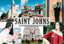 Free Saint Johns Lightroom Presets