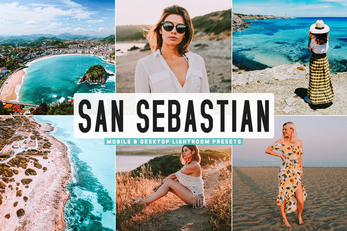 Free San Sebastian Lightroom Presets
