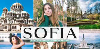 Free Sofia Lightroom Presets