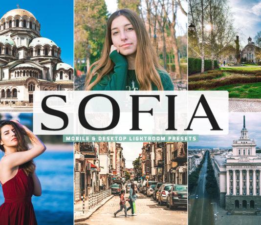 Free Sofia Lightroom Presets