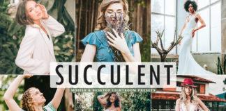 Free Succulent Lightroom Presets