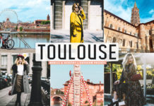 Free Toulouse Lightroom Presets