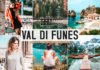 Free Val di Funes Lightroom Presets