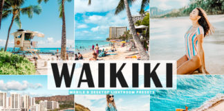 Free Waikiki Lightroom Presets