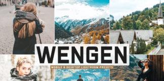 Free Wengen Lightroom Presets
