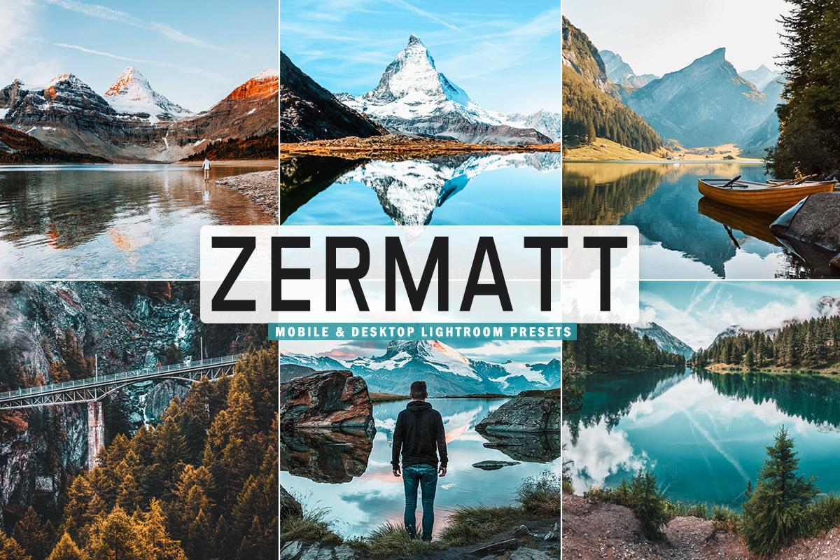 Free Zermatt Lightroom Presets