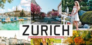 Free Zurich Lightroom Presets