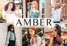Free Amber Lightroom Presets