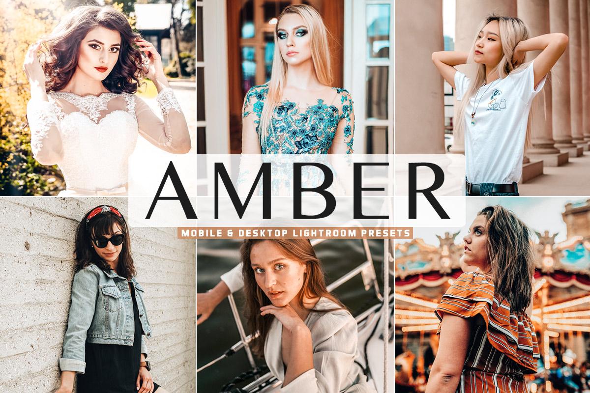 Free Amber Lightroom Presets