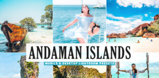 Free Andaman Islands Lightroom Presets