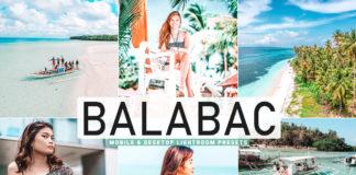 Free Balabac Lightroom Presets
