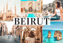 Free Beirut Lightroom Presets