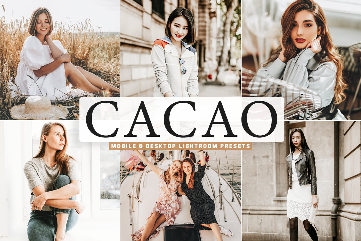 Free Cacao Lightroom Presets