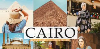 Free Cairo Lightroom Presets