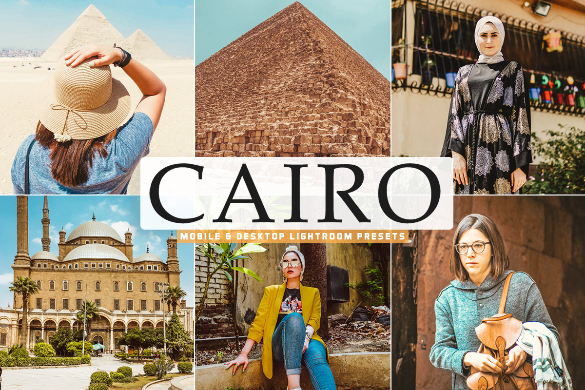 Free Cairo Lightroom Presets
