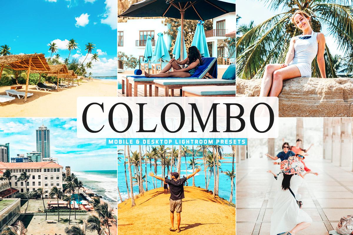 Free Colombo Lightroom Presets