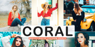 Free Coral Lightroom Presets