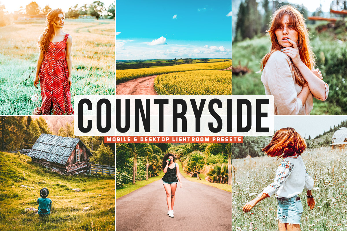 Free Countryside Lightroom Presets
