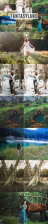 Free Fantasyland Lightroom Presets