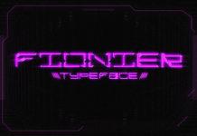 Free Fionier Display Font