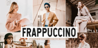 Free Frappuccino Lightroom Presets
