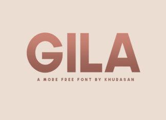 Free Gila Sans Serif Font