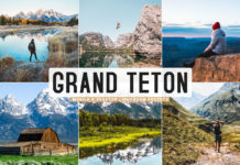 Free Grand Teton Lightroom Presets
