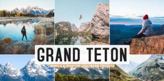 Free Grand Teton Lightroom Presets