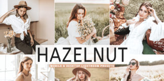 Free Hazelnut Lightroom Presets