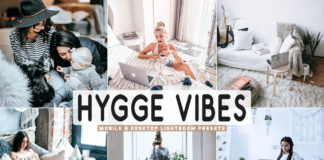Free Hygge Vibes Lightroom Presets