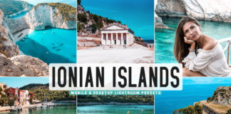 Free Ionian Islands Lightroom Presets