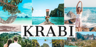 Free Krabi Lightroom Presets