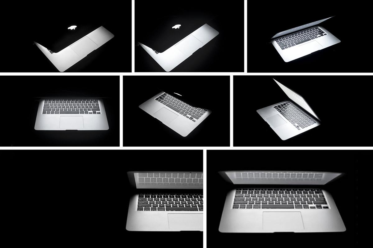Free Macbook Night Photos