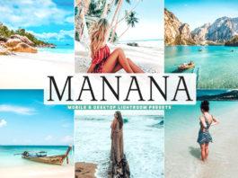 Free Manana Lightroom Presets