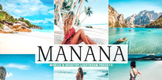 Free Manana Lightroom Presets
