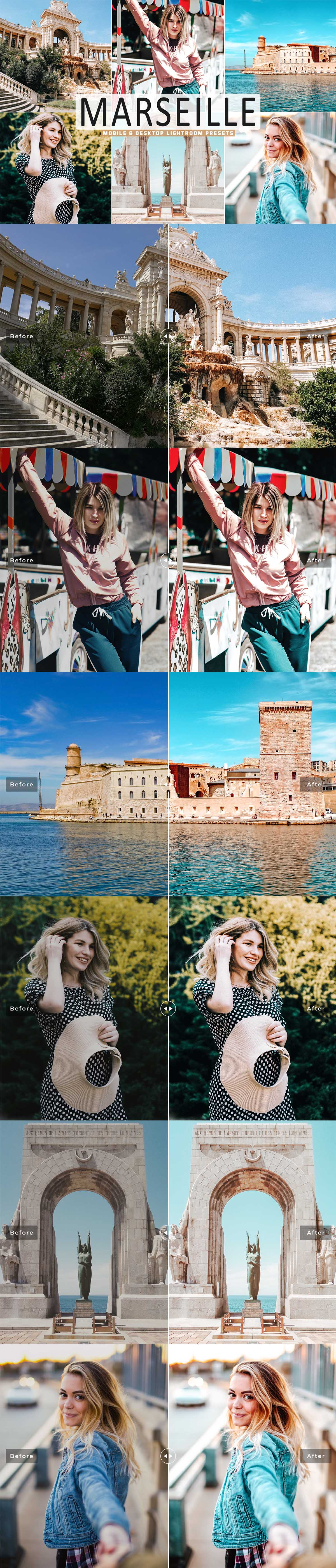 Free Marseille Lightroom Presets