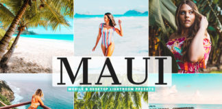 Free Maui Lightroom Presets
