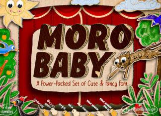 Free Moro Baby Fancy Font
