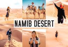 Free Namib Desert Lightroom Presets