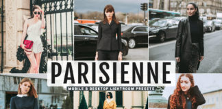 Free Parisienne Lightroom Presets