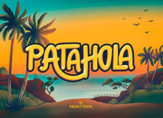 Free Patahola Display Font